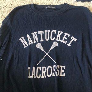 brandy melville nantucket lacrosse long sleeve